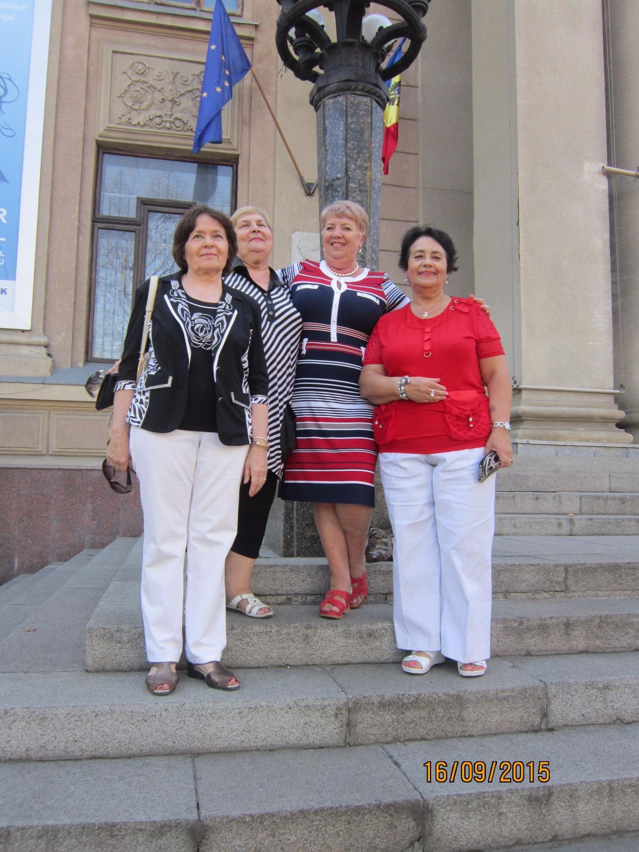 2015-Встреча одноклассниц в кишинневе